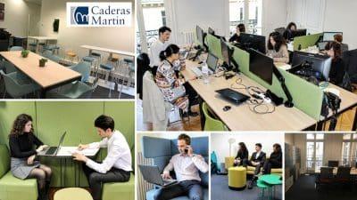 Espace de travail Caderas Martin