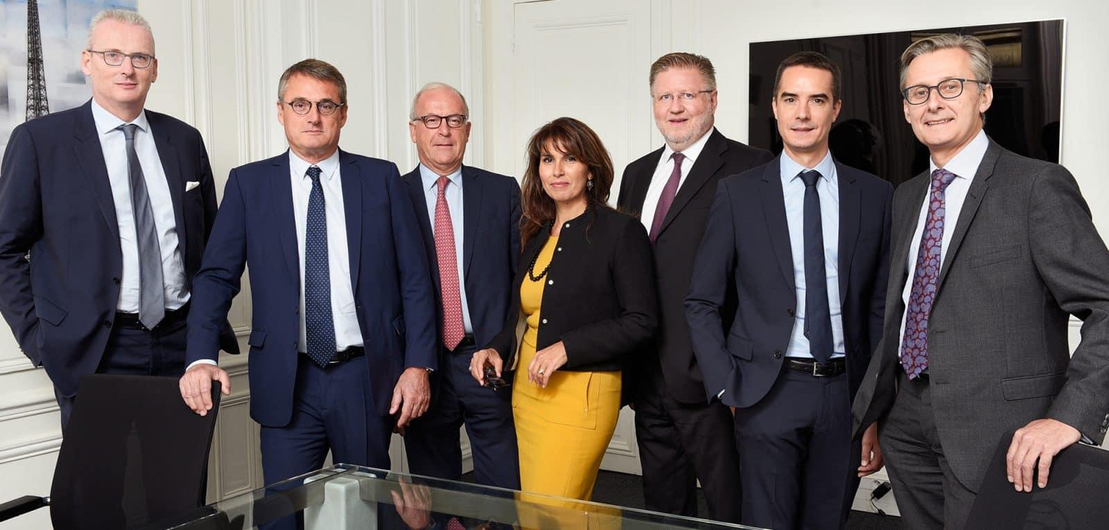 L'équipe du cabinet
