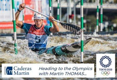 Caderas Martin – Martin Thomas, looking towards the Tokyo Olympics...